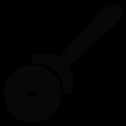 Pizzaschneider-Symbol
