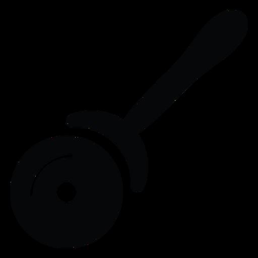 Ícone de cortador de pizza Transparent PNG