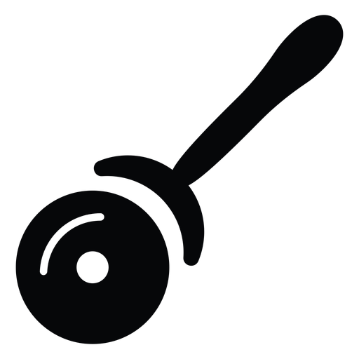 Pizza cutter icon Transparent PNG