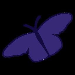 Icono de Butterlfy púrpura