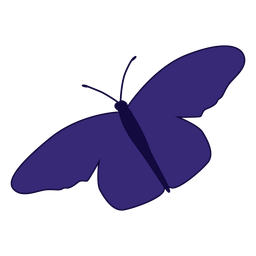 Purple butterlfy icon