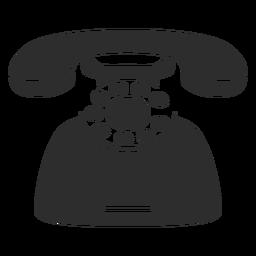 Ícone de deskphone retrô
