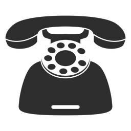 Retro deskphone icon