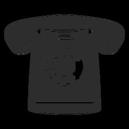Ícone do telefone rotativo