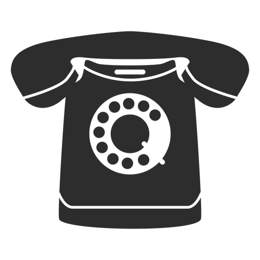 Rotary phone icon Transparent PNG