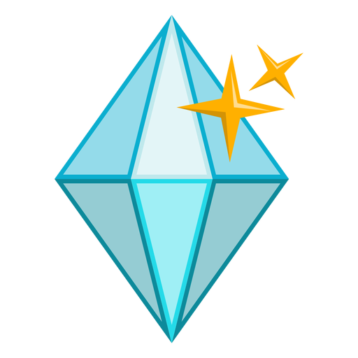 Diamante brillante piedra vector Transparent PNG
