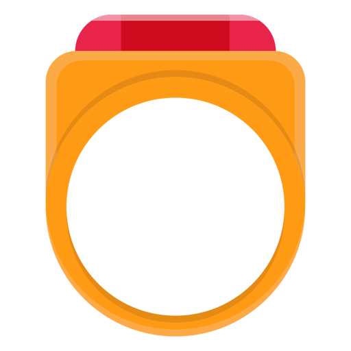Signet ring vector icon Transparent PNG