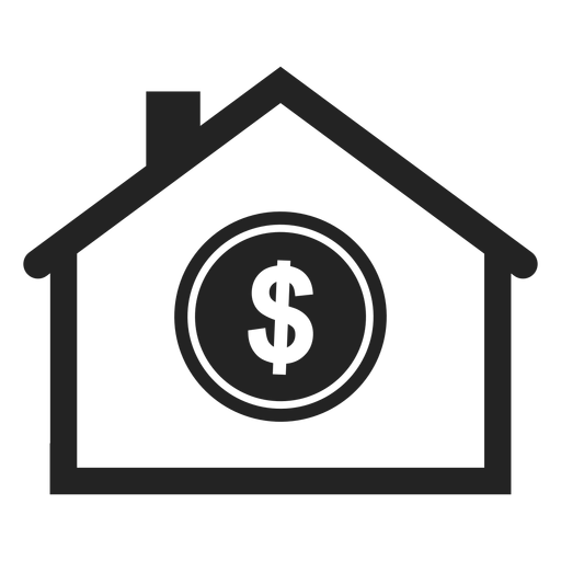 Simple bank icon - Transparent PNG & SVG vector