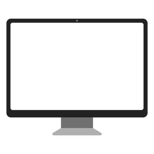Simple computer screen icon computer Transparent PNG