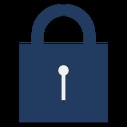 Bloqueio de ícone de cadeado simples