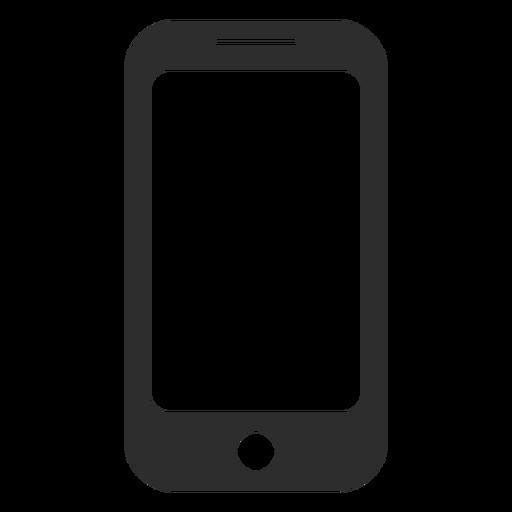 Icono de tel?fono inteligente simple
