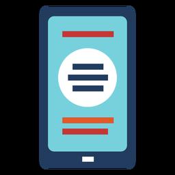 Smartphone design ilustração