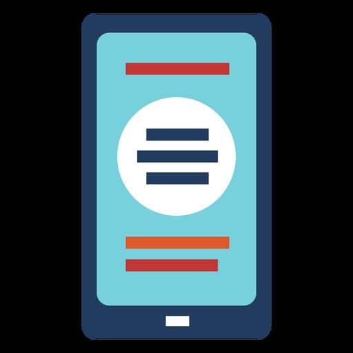 Diseño de ilustración de smartphone
