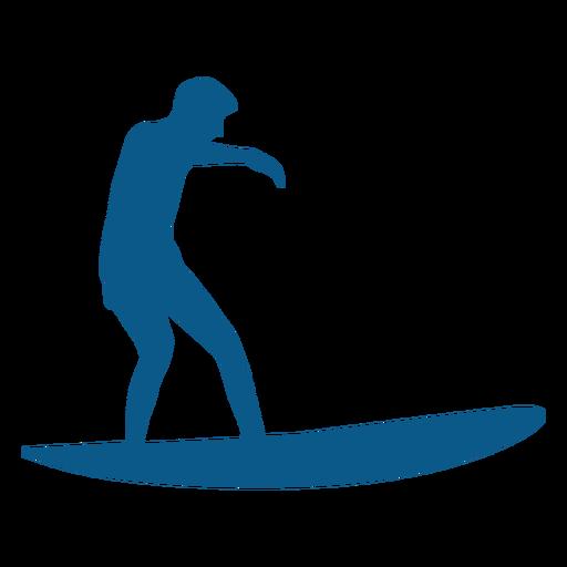 Surfista montando a silhueta de onda Transparent PNG