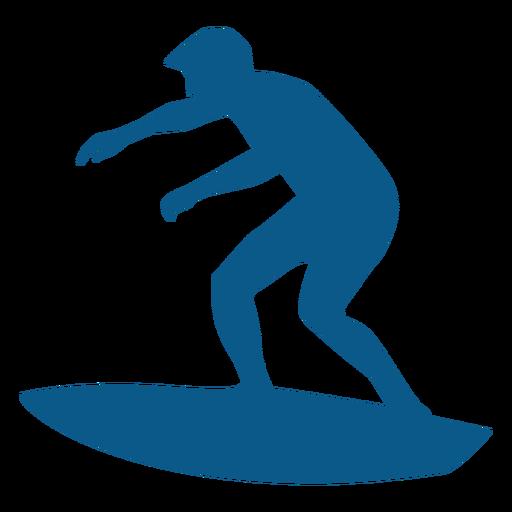 Surfen Männer Silhouette Transparent PNG