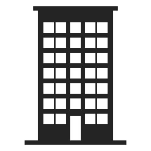 Tall building home icon Transparent PNG