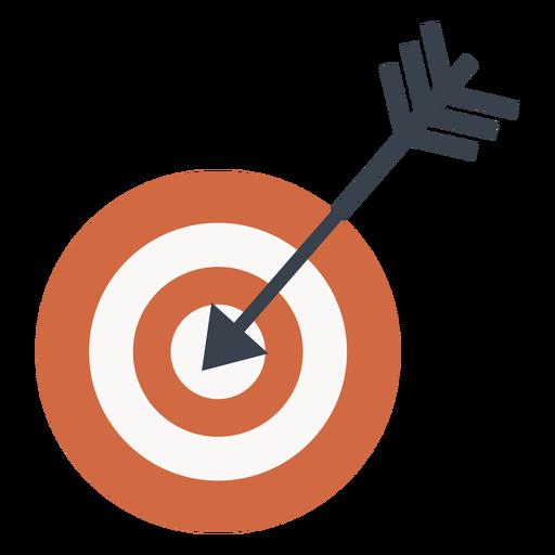 Objetivo y el icono de flecha de destino Transparent PNG