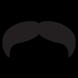 El icono de bigote estilo vaquero.
