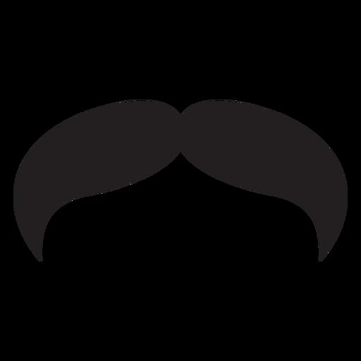 El icono de bigote estilo vaquero. Transparent PNG