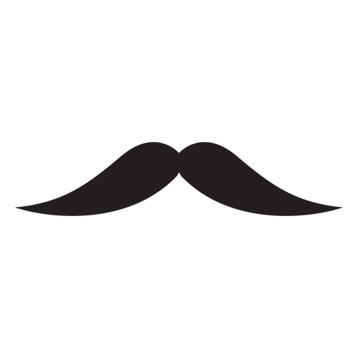 The english moustache icon Transparent PNG