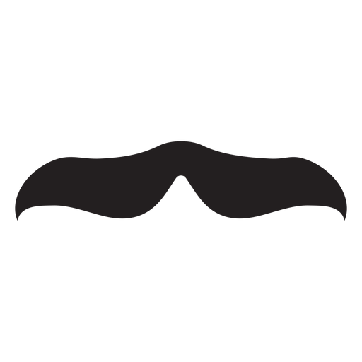 The gandhi moustache icon Transparent PNG