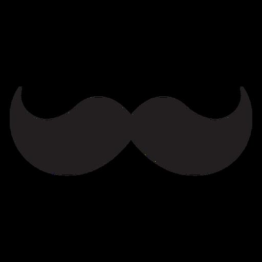 El icono del bigote húngaro. Transparent PNG