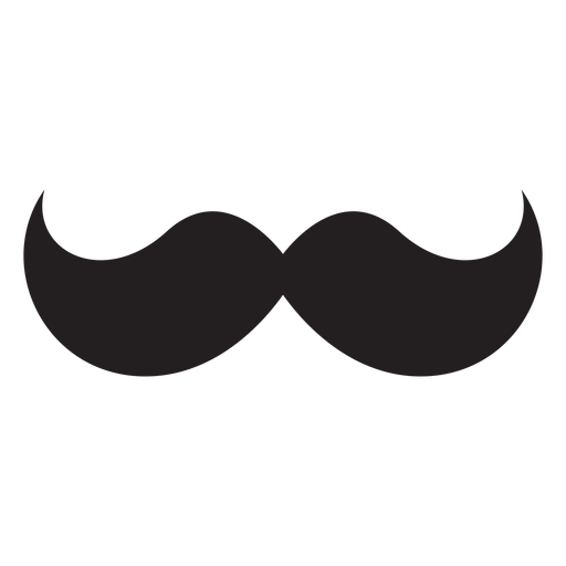The hungarian moustache icon