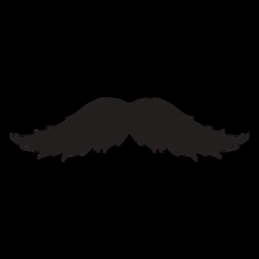 El icono de trazo de pincel de bigote magnum Transparent PNG