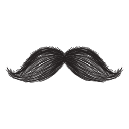 Das Magnum-Stil-Pinselstrich-Symbol