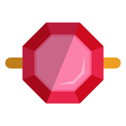Top view ring vector