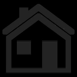 Ícone casa tradicional