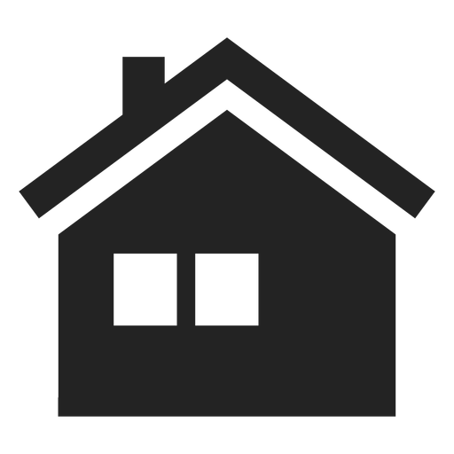 Two window home icon Transparent PNG