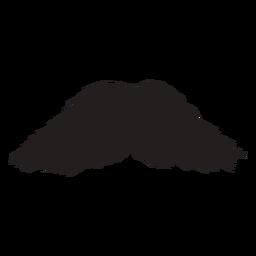 Walrus style brush stroke icon