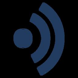 Símbolo de conexão Wi-Fi