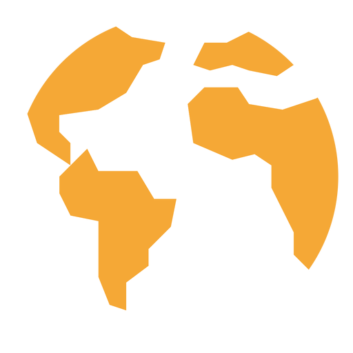 Ícone do mapa do mundo Transparent PNG