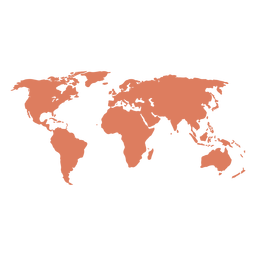 Ilustración del mapa del mundo