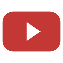 Youtube play button logo