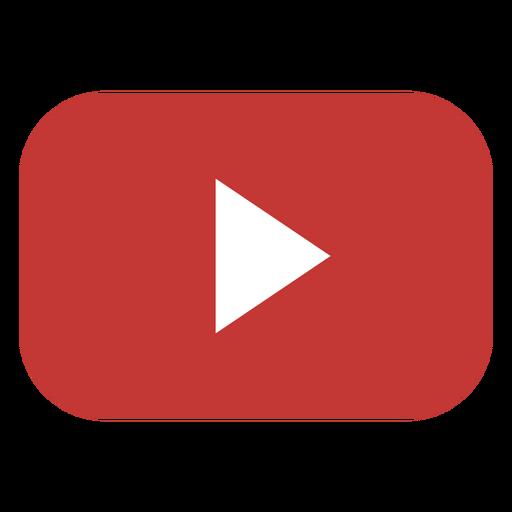 Logotipo do botão de reprodução do YouTube Transparent PNG