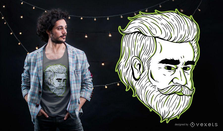 Odiyan Mann T-Shirt Design