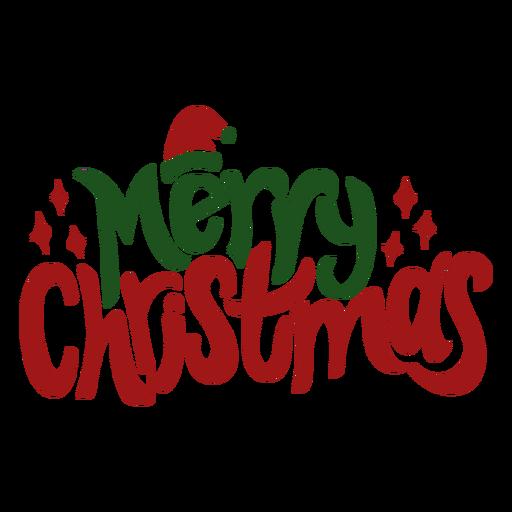 Feliz navidad saludo Transparent PNG