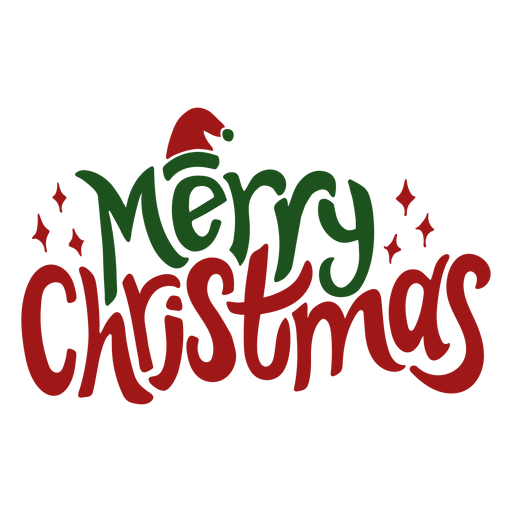 Merry christmas greeting Transparent PNG