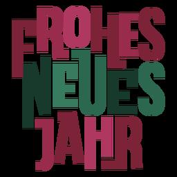 Frohes neues jahr mensaje de letras