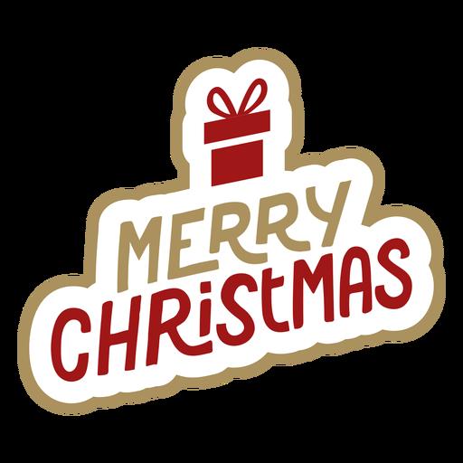 Letras de feliz natal Transparent PNG