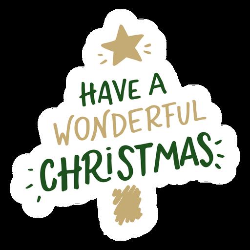 Tener unas maravillosas letras de navidad Transparent PNG