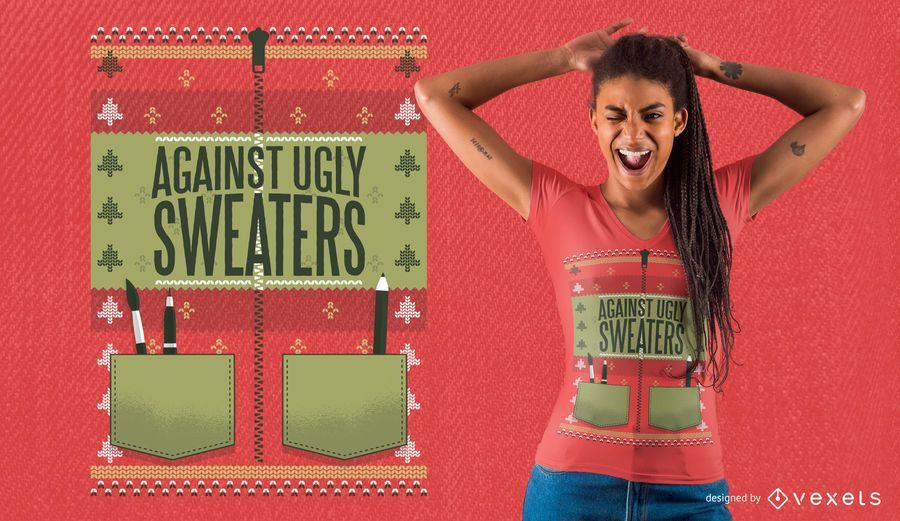 Ugly Jacket T-Shirt Design