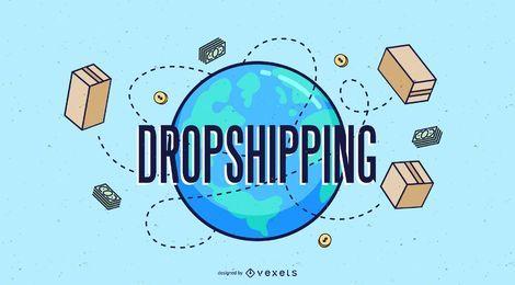 Diseño de Dropshipping de carga mundial