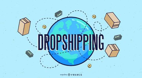 World Cargo Dropshipping Design