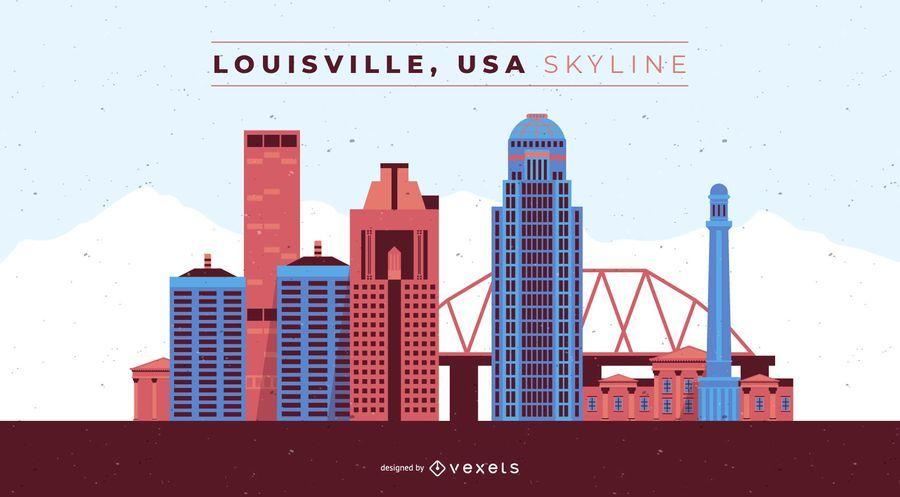 Horizonte de Louisville Kentucky