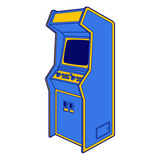 Máquina de juegos de arcade Transparent PNG