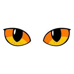 Cat eyes illustration